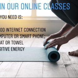 Online Pilates lessen